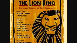 The Lion King Broadway Soundtrack - 05. I Just Can't Wait to Be King