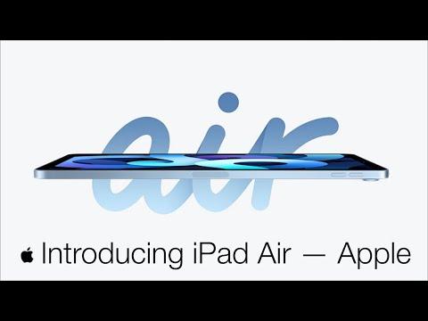 Introducing iPad Air — Apple