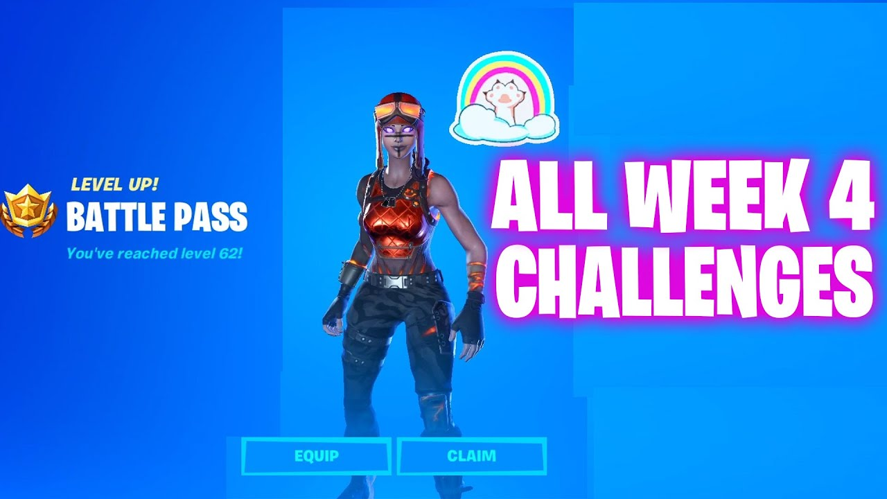 ALL WEEK 4 CHALLENGES GUIDE FORTNITE CHAPTER 2 SEASON 3