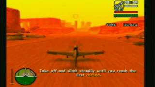 GTA San Andreas Mission - Learning To Fly (Flight School)