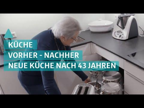 Küchen Vorher-Nachher: neue Küche nach 43 Jahren