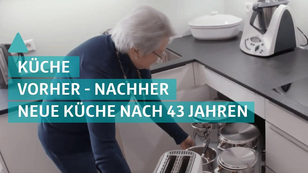 Küchen Vorher-Nachher: neue Küche nach 43 Jahren - YouTube
