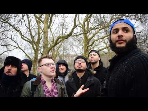 The Sun doesnt Exist! Mohammed Hijab Vs Atheist | Speakers Corner | Hyde Park