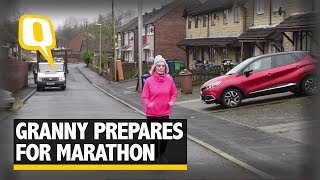Meet the 85-Year-Old Great Grandmother Preparing to Run a Marathon | The Quint