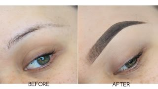 updated eyebrow routine   instagram eyebrows tutorial   step by step