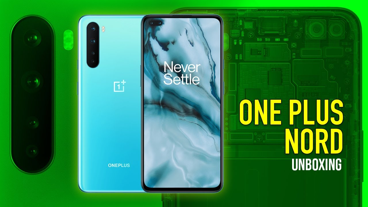 👌Best 5G Smartphone Oneplus NORD Unboxing in Hindi An Indian 🇮🇳 Retail unit | HashTag India ⚡️⚡️⚡
