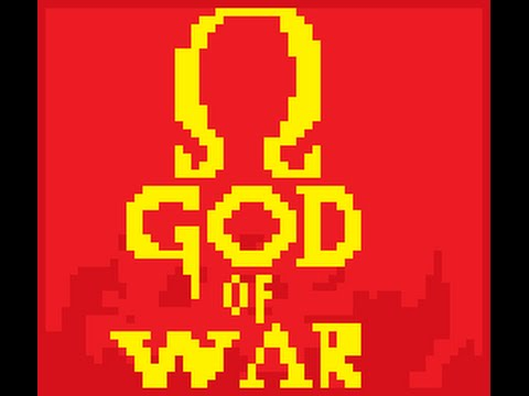 (BETA) GOD OF WAR - PIXEL ART GAMES - FURIA DE KRATOS