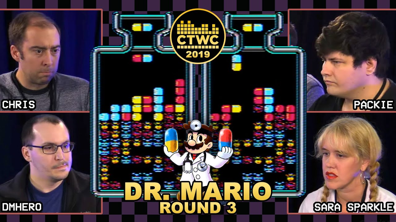 2019 Dr Mario Championship Rd 3 Tetris Masters Take On The