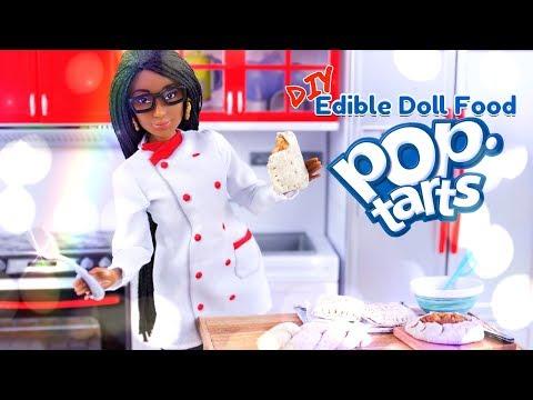 DIY - How to Make: Edible Doll Pop Tarts | REAL EDIBLE Doll Food
