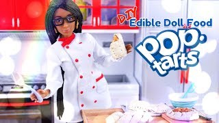 DIY - How to Make: Edible Doll Pop Tarts | REAL EDIBLE Doll Food