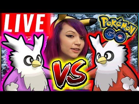 LIVE: DELIBIRD PVP BATTLES in Pokémon GO!