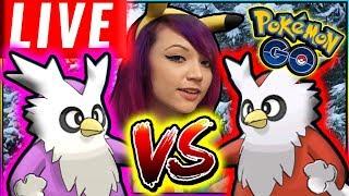 LIVE PVP DELIBIRD BATTLES in Pokémon GO!
