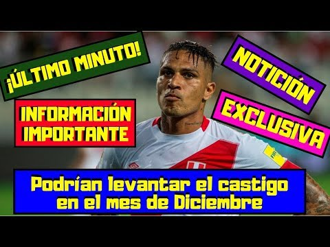 ÚLTIMO MINUTO 🔴 Paolo Guerrero ¡EXPLOTA! ⚽ El TAS lo dejaría ¡JUGAR! en Diciembre ⚽ ¡INOCENTE!