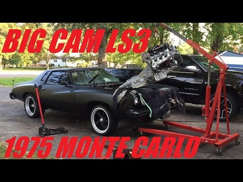 1975 Monte Carlo with NASTY LS3