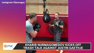 Khabib To Gaethje: 'I Will Drown Him' In the Deepest Ocean