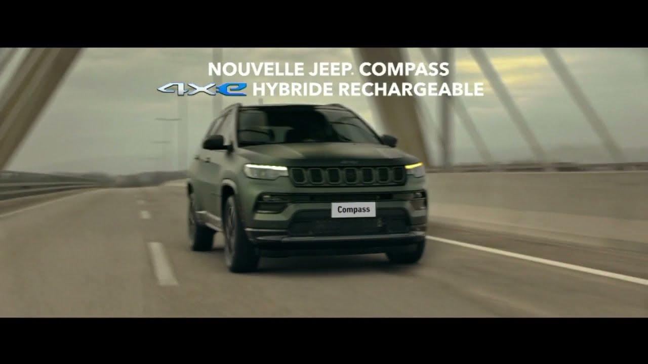 """Musique de la pub Nouvelle Jeep Compass 4xe hybride rechargeable – le scénario """"there's only one""""  Mai 2021"""