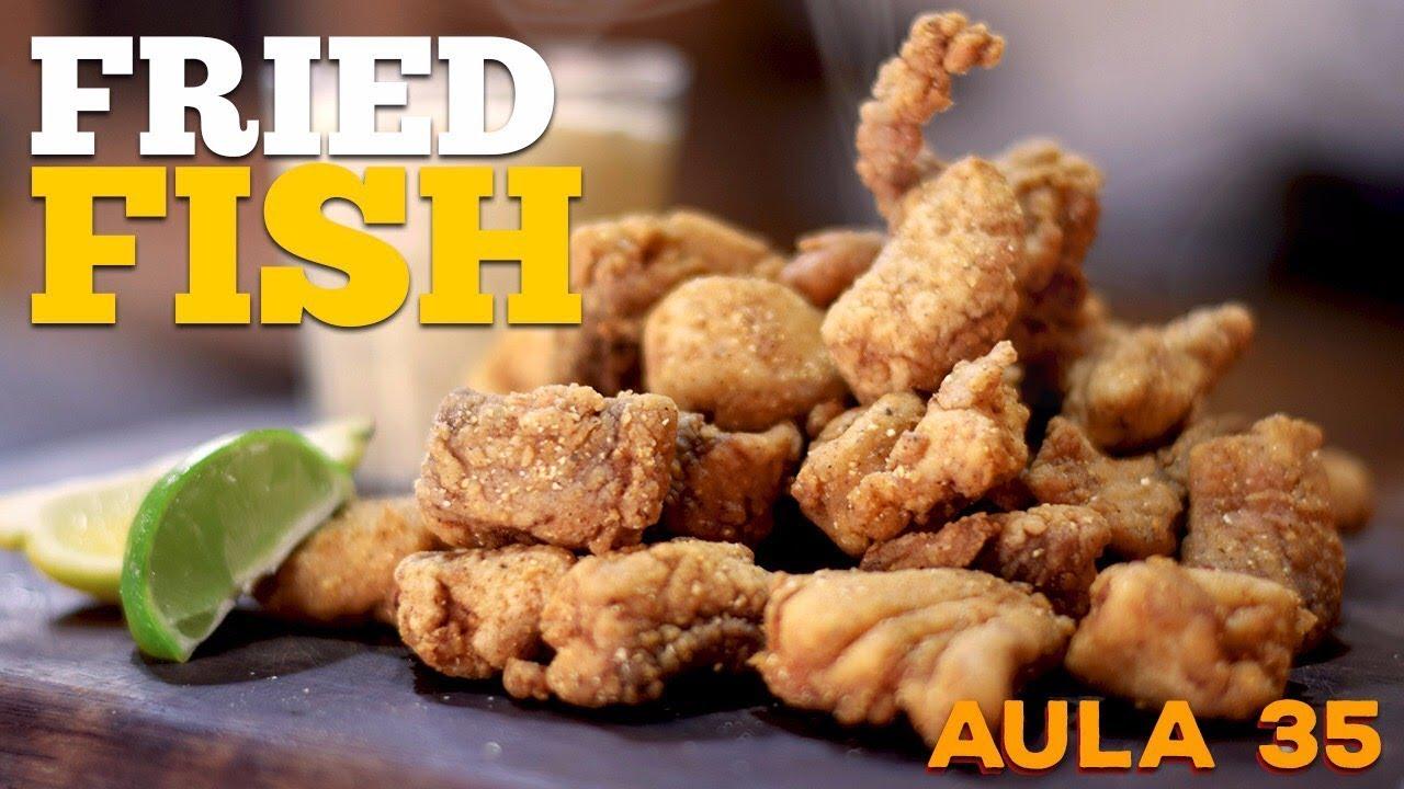 Southern Fried Fish (Receita de Peixe Frito PERFEITO) / Cansei de Ser Chef