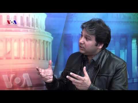 Yousaf Jan  -  Starge de chata de -  interview in Washington DC by VOADEEWA - Wakil Khan
