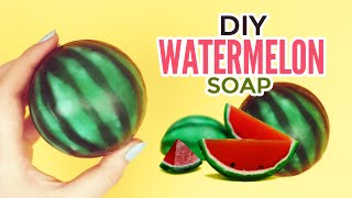 DIY: Watermelon Soap