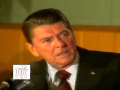 "Ronald Reagan: ""I Am Paying for this Microphone"" (1980)"