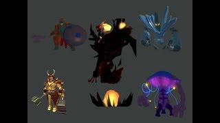 All bosses & event bosses   ROBLOX Swordburst 2