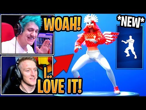 Streamers React to the *NEW* Fandangle Dance/Emote! - Fortnite Best and Funny Moments thumbnail