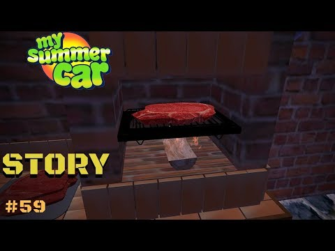 BARBECUE STEAK ON GRILL - My Summer Car Story #59