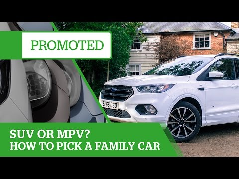 Promoted: SUV or MPV? Six tips for choosing a family car
