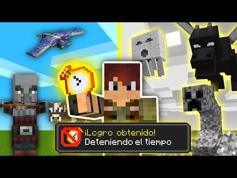 Minecraft pero PUEDO PARAR EL TIEMPO