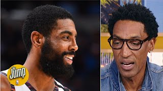 Scottie Pippen reacts to Kyrie Irving