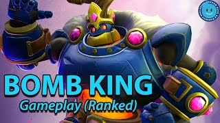 Paladins - Bomb King Ranked Gameplay. Get BLOWN, DUDE! I mean...(Live Stream)