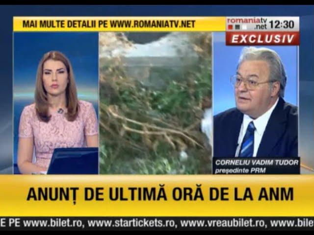 RomaniaTV, 1 Septembrie 2014, poluare ape de catre mafia carnii