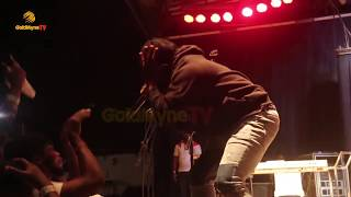 SLIMCASE'S PERFORMANCE AT 'OMAWUMI LIVE' AT FREEDOM PARK