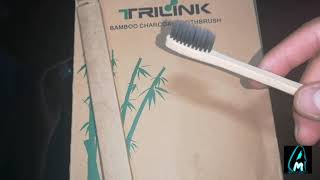 Trilink Bamboo Charcoal Toothbrush (Review)