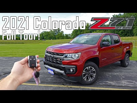 2021 Chevy Colorado Z71 | Full Tour + Changes For 2021!