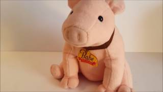 Babe & Friends Talking Interactive Plush Pig
