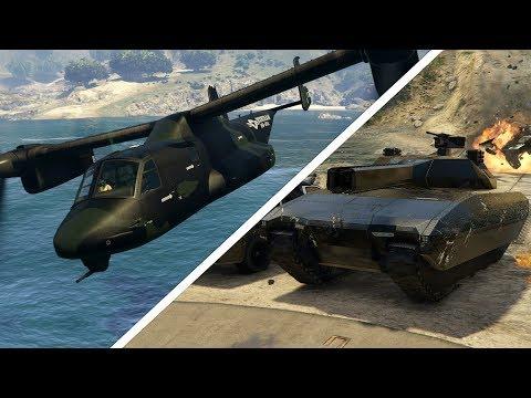 SUPER AVENGER, CARRO DEL FUTURO E AUTO VOLANTE! - GTA 5 ONLINE