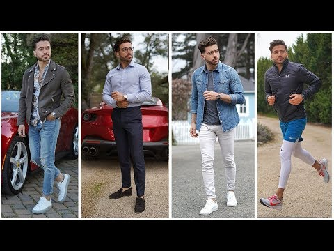 4 Men's Outfits for Spring 2019   EPIC Men's Fashion Lookbook Ferrari Edition Part 1