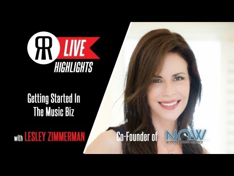 Getting Started As A Music Publicist with Lesley Zimmerman