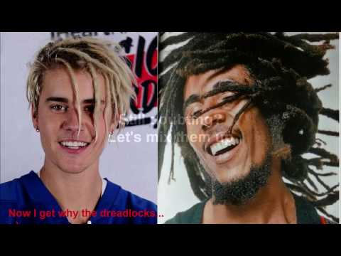 Justin Bieber - Cold Water / I shot the sheriff Bob Marley exposed