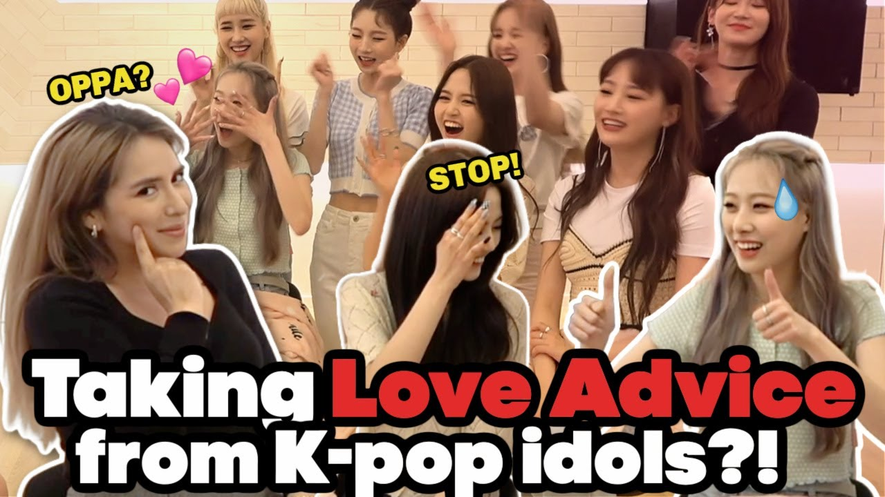 NALU's On SHOW: What Happens if KPOP IDOLS GIVE YOU LOVE❤️ ADVISE?🤭 ft HOT ISSUE!