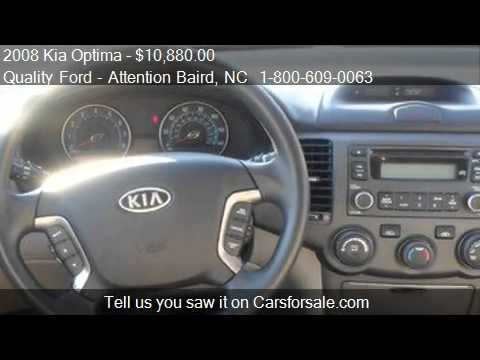 Superb 2008 Kia Optima LX V6   For Sale In Whiteville, NC 28472   YouTube