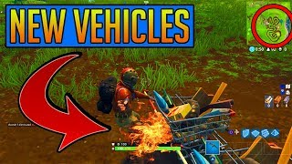 *NEW* SHOPPING CART VEHICLE COMING to Fortnite: Battle Royale! PLUS NEW POI COMING?!