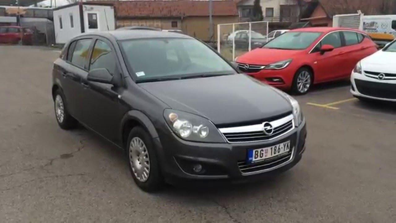 Opel Astra H 2010. god. 79.000km - PRODAT - YouTube