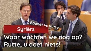 Baudet vs Rutte over Syriërs: Waar wachten we nog op? Rutte, u doet niets!