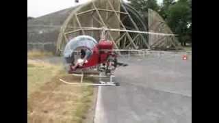 Safari 400 Helicopter Engine Run