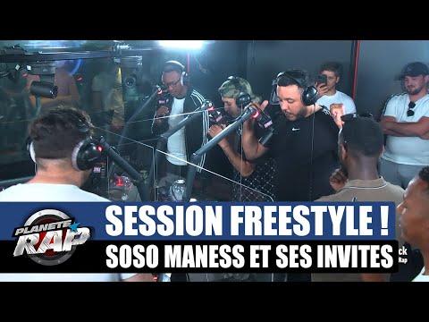 Youtube: Soso Maness – Session freestyle avec Les Frères J, Mouz & MLKakou! #PlanèteRap