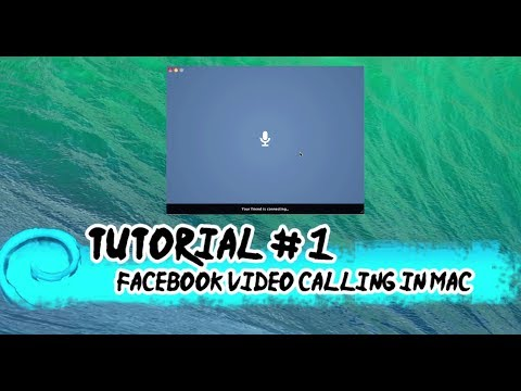How To Do Facebook Video Call On Mac OS X Mavericks - Please Subscribe
