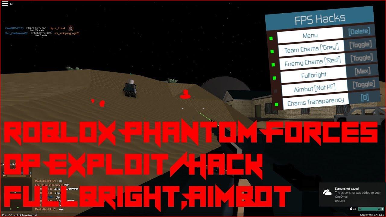 phantom forces aimbot script september 2018