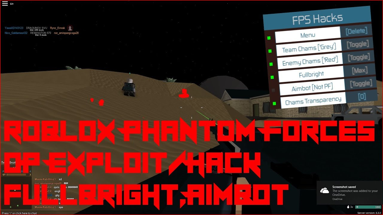 My Hack Roblox Hack Pf Xray Free Phantom Forces - Roblox Pf Aimbot Script Robux Gg Free Robux